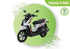 yamaha x ride