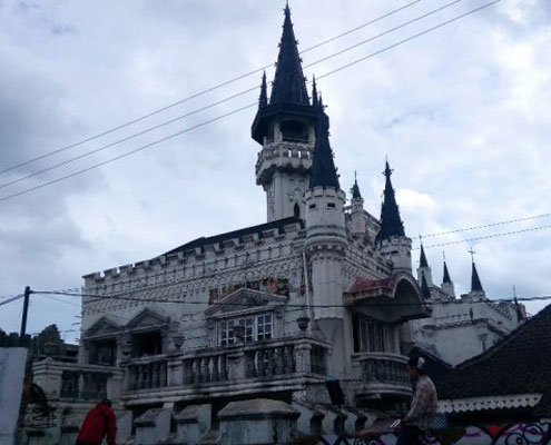 Lokasi Gereja Gothic Sayidan