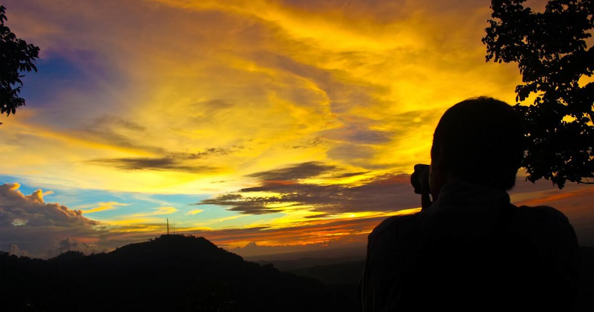 Watu Amben Sunset